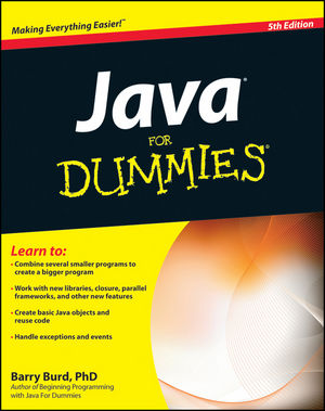 Java For Dummies, 5th Edition | Object Technologies - Java | Object