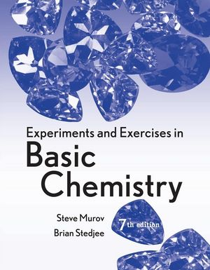 Experiments and Exercises in Basic Chemistry, 7th Edition (0470423730) cover image