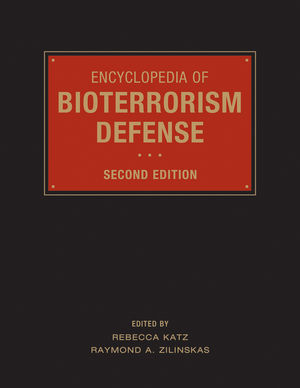 Encyclopedia of Bioterrorism Defense, 2nd Edition (0470508930) cover image
