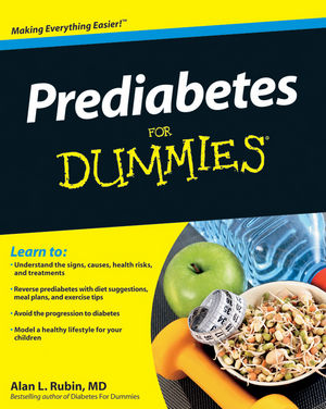 Prediabetes For Dummies (0470589930) cover image