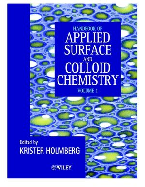 Handbook of Applied Surface and Colloid Chemistry, 2 Volume Set