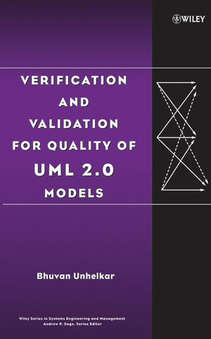 Verification and Validation for Quality of UML 2.0 Models (0471727830) cover image
