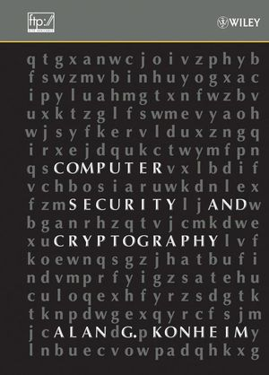 Computer Security and Cryptography (0471947830) cover image