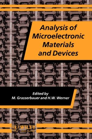 Analysis of Microelectronic Materials and Devices (0471950130) cover image