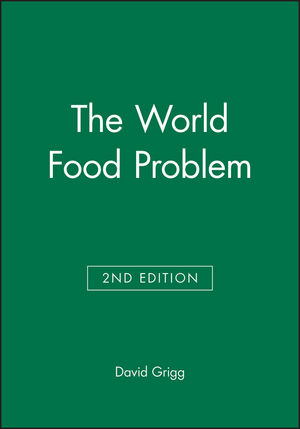 The World Food Problem, 2nd Edition (0631176330) cover image