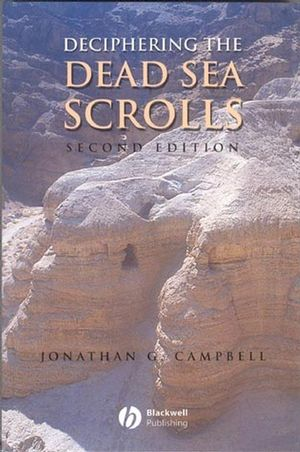 Deciphering the Dead Sea Scrolls, 2nd Edition (0631229930) cover image