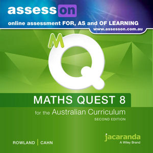 Assesson Maths Quest 8 For The Australian Curriculum 2E (Online Purchase)