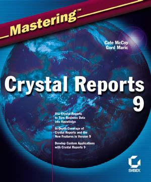 Mastering�Crystal Reports 9 (0782141730) cover image