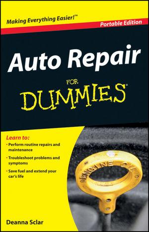 Auto Repair For Dummies, Portable Edition