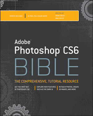 Adobe Photoshop CS6 Bible (1118238230) cover image