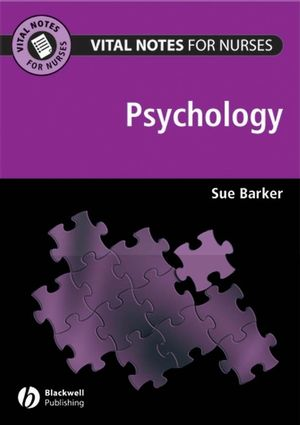 Vital Notes for Nurses: Psychology (1118305930) cover image