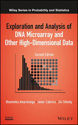 Exploration and Analysis of DNA Microarray and Other High-Dimensional Data, 2nd Edition (1118356330) cover image