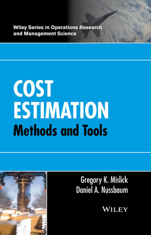 Cost Estimation: Methods and Tools (1118802330) cover image