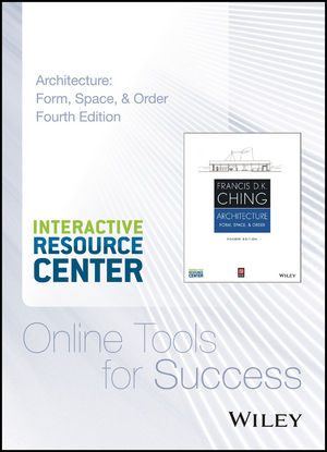 Architecture: Form, Space, and Order, 4e Interactive Resource Center Access Card (1118986830) cover image