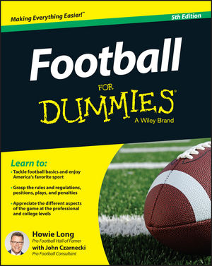 Football For Dummies, 5th Edition (1119022630) cover image