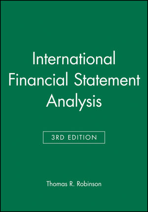International Financial Statement Analysis, Book and Workbook Set, 3rd Edition (1119119030) cover image