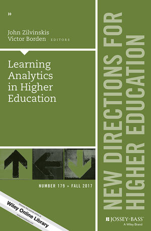 Learning Analytics in Higher Education: New Directions for Higher Education, Number 179 (1119443830) cover image