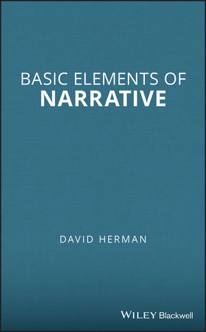 Basic Elements of Narrative (1405141530) cover image