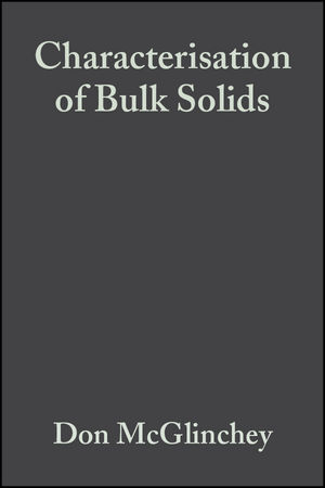 Characterisation of Bulk Solids (1405143630) cover image