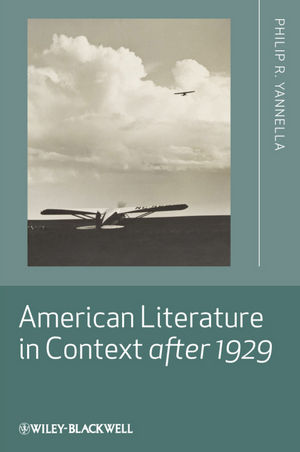 American Literature in Context after 1929 (1444390430) cover image