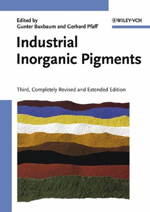 Industrial Inorganic Pigments, 3rd, Completely Revised and Extended Edition (3527604030) cover image
