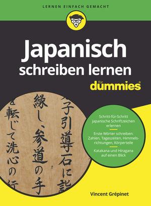 Japanisch schreiben lernen fur Dummies