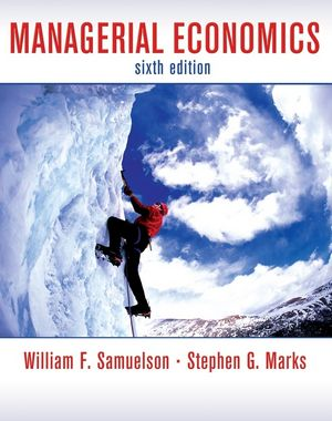 Managerial Economics, 6th Edition (EHEP000230) cover image