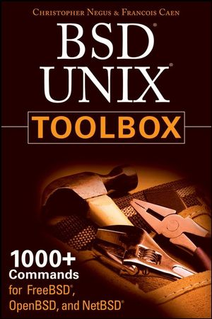 BSD UNIX Toolbox: 1000+ Commands for FreeBSD, OpenBSD and NetBSD (0470376031) cover image
