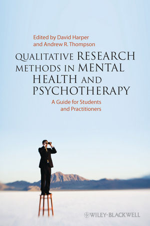 Qualitative Research Methods in Mental Health and Psychotherapy: A Guide for Students and Practitioners (0470663731) cover image