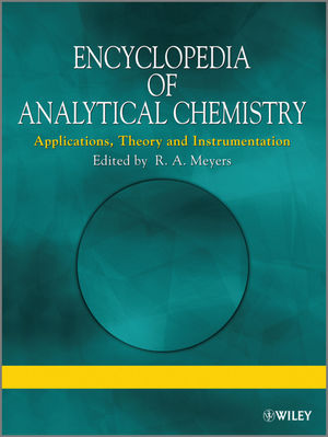 Encyclopedia of Analytical Chemistry: Applications, Theory and Instrumentation, Supplementary Volumes S1 - S3