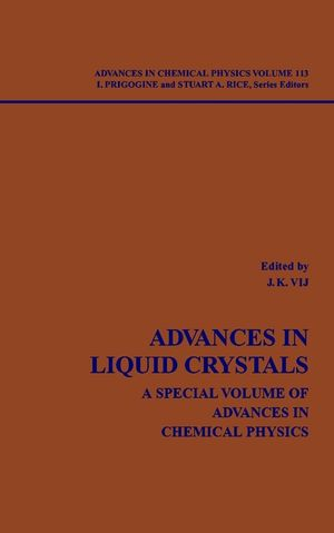 Advances in Liquid Crystals: A Special Volume, Volume 113