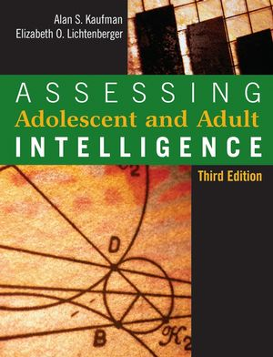 Assessing Adolescent and Adult Intelligence, 3rd Edition (0471735531) cover image