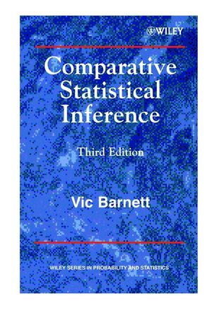 Comparative Statistical Inference, 3rd Edition (0471976431) cover image