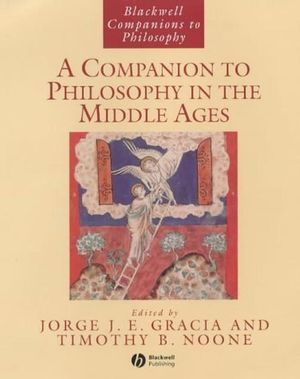 A Companion to Philosophy in the Middle Ages (0631216731) cover image