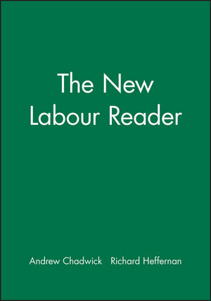 The New Labour Reader (0745629431) cover image