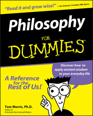 Philosophy For Dummies (0764551531) cover image