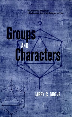 Groups and Characters (1118030931) cover image