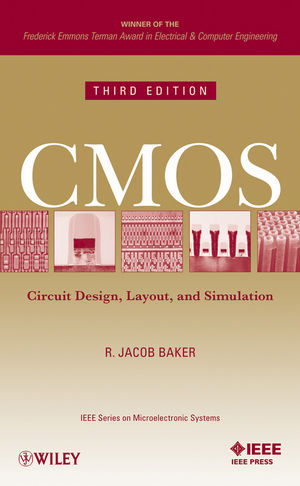 CMOS: Circuit Design, Layout, and Simulation, 3rd Edition (1118038231) cover image