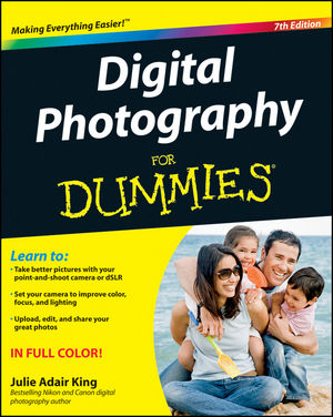Digital Photography For Dummies, 7th Edition (1118092031) cover image