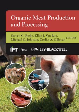 Organic Meat Production and Processing (1118229231) cover image