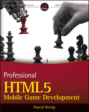 Professional HTML5 Mobile Game Development (1118301331) cover image