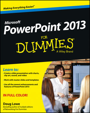 PowerPoint 2013 For Dummies (1118502531) cover image