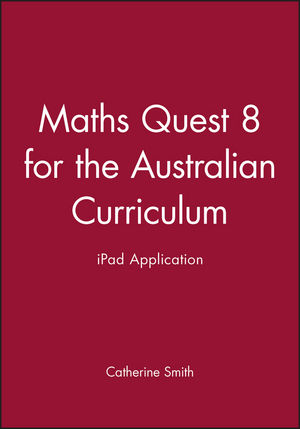 Maths Quest 8 for the Australian Curriculum iPad Application
