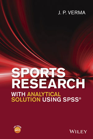 Sports Research with Analytical Solution using SPSS (1119206731) cover image