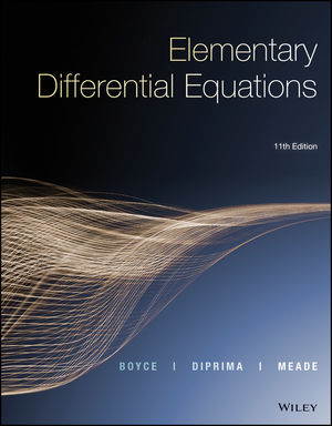 Elementary Differential Equations, Enhanced eText, 11th Edition (1119320631) cover image