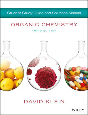 Organic Chemistry Student Solution Manual/Study Guide, 3rd Edition (1119422531) cover image