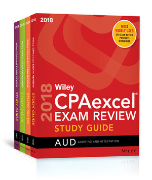 Wiley CPAexcel Exam Review 2018 Study Guide: Complete Set