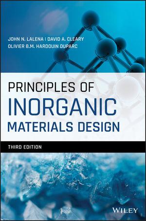 Principles of Inorganic Materials Design, 3rd Edition