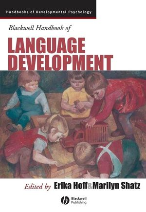 Blackwell Handbook of Language Development (1405132531) cover image