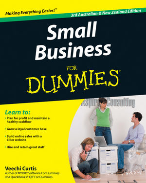 Small Business For Dummies, 3rd Australian & New Zealand Edition (1742168531) cover image